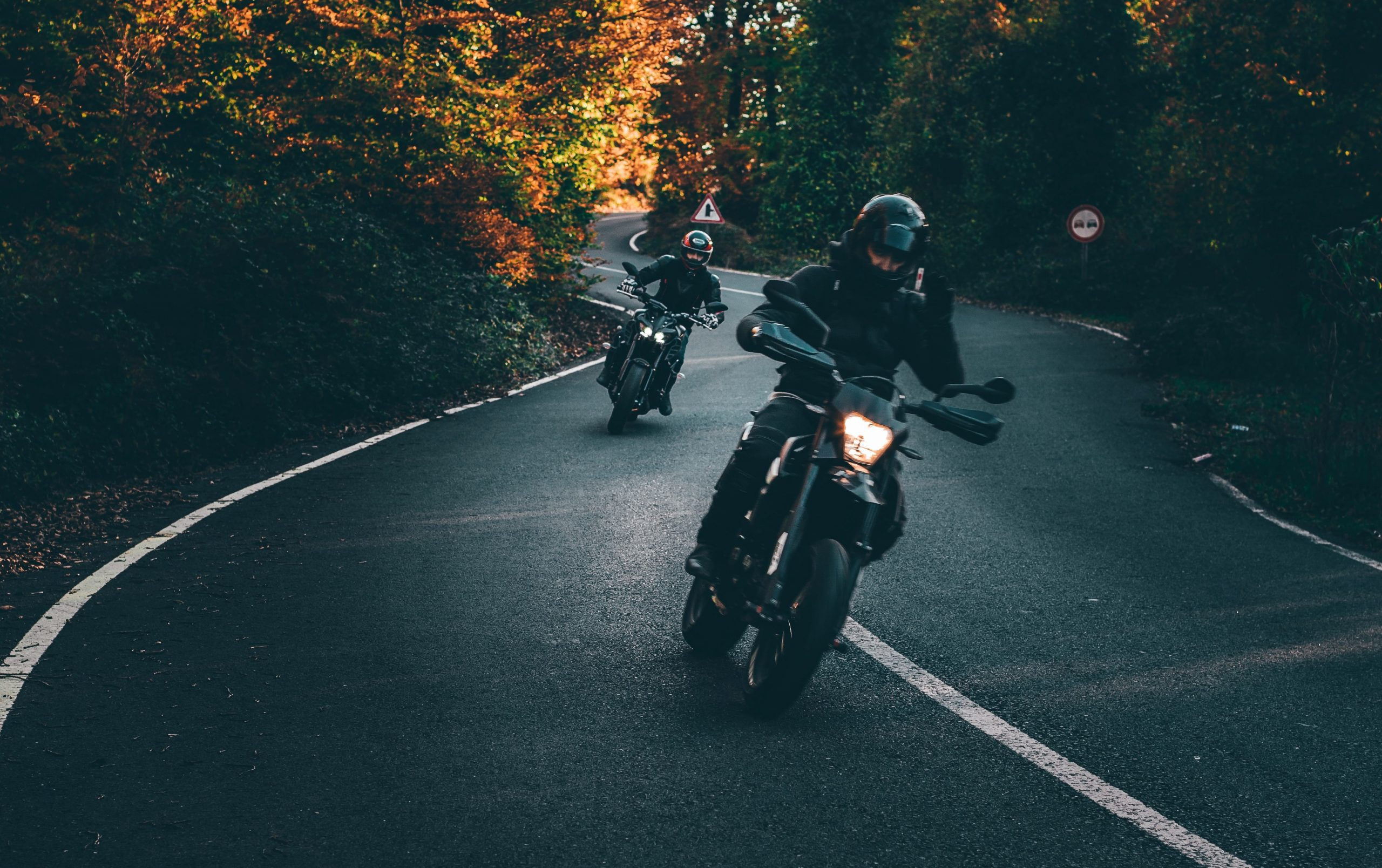 motorcycle hand signals group ride - title
