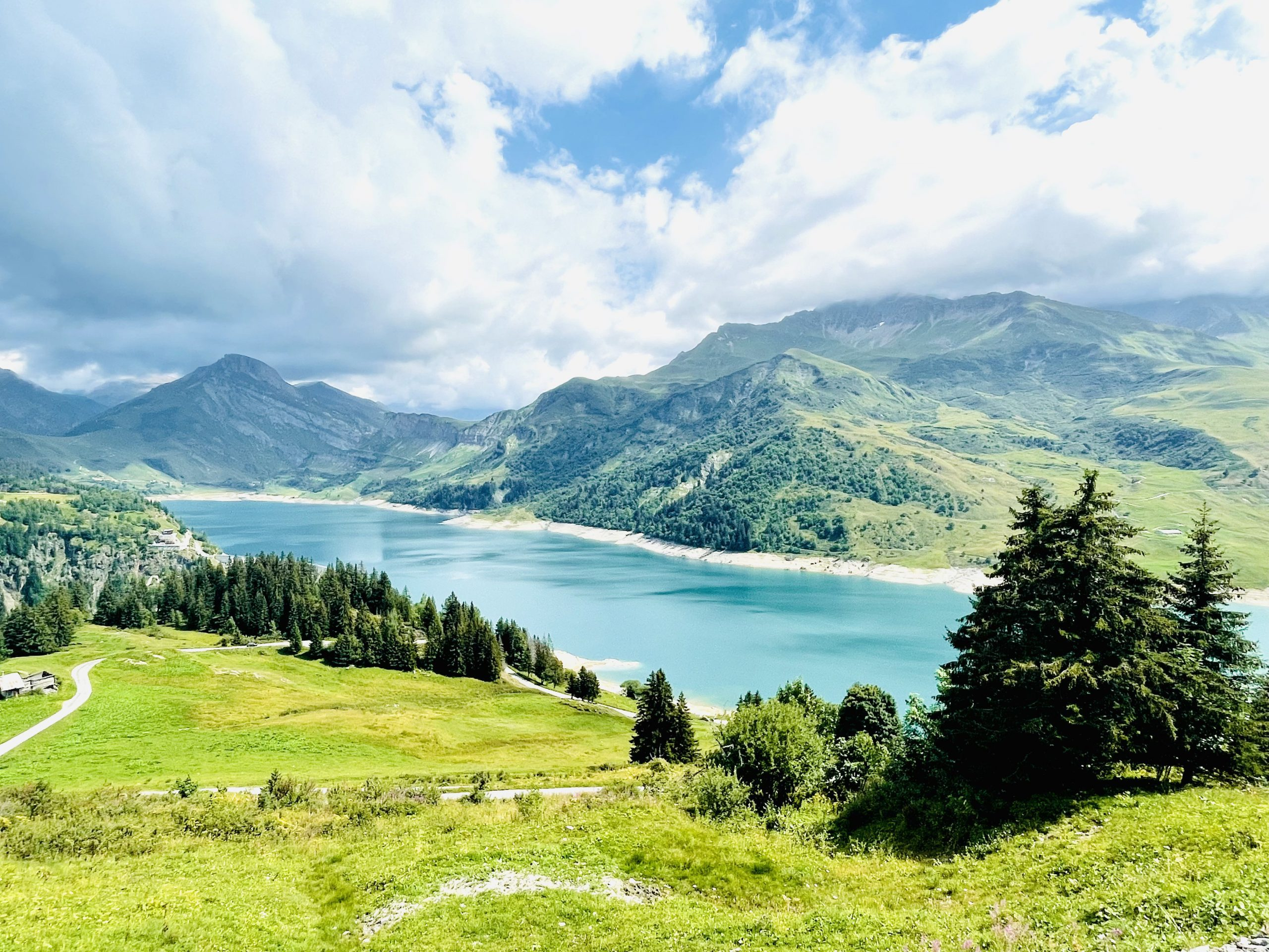 motorcycle touring troubles - french alps